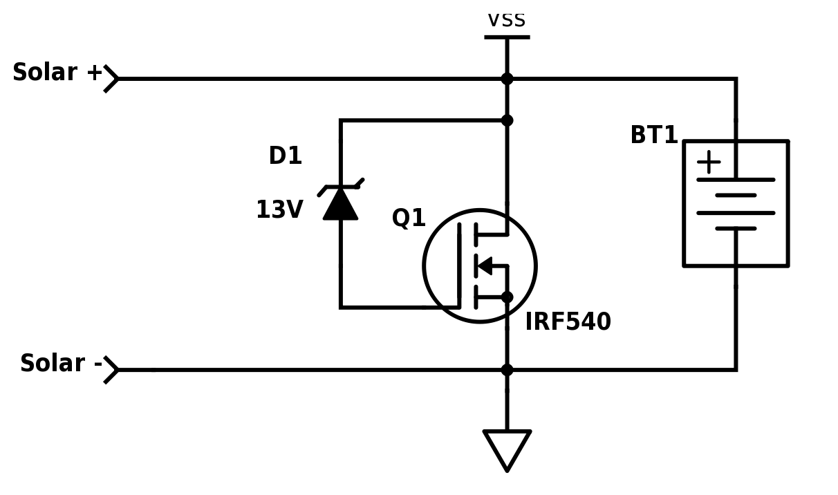 Irf 540 In Automatic Battery Charger Circuit | Wiring Library